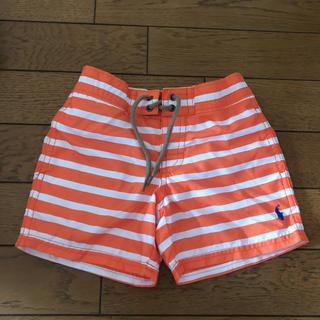 ラルフローレン(Ralph Lauren)の新品 ラルフローレン  9M/9ヶ月 ボーダー水着(水着)