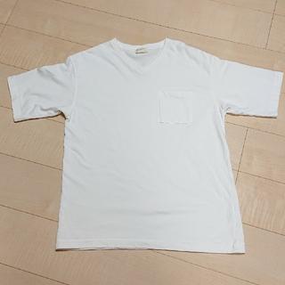 バックナンバー(BACK NUMBER)のBACK NUMBER  ポケット付きVネックTシャツ(Tシャツ/カットソー(半袖/袖なし))