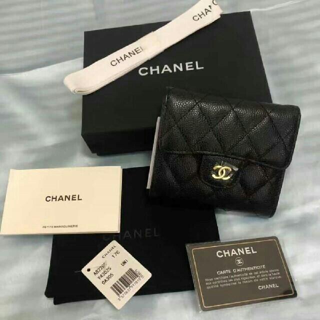 CHANEL - シャネル折り畳み財布の通販 by ヒキラ's shop|シャネルならラクマ
