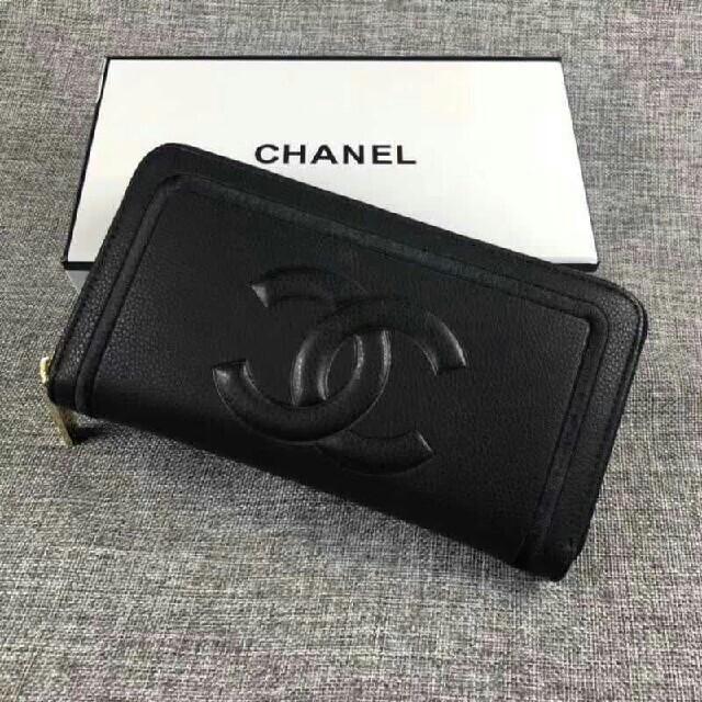 CHANEL - CHANEL シャネル 財布 ブラックの通販 by ヒキラ's shop|シャネルならラクマ