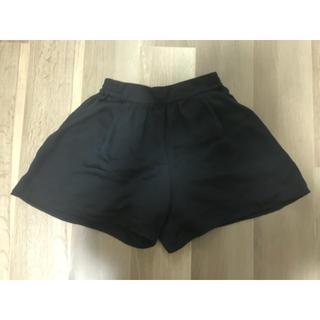 GU - gu ショートパンツ 黒
