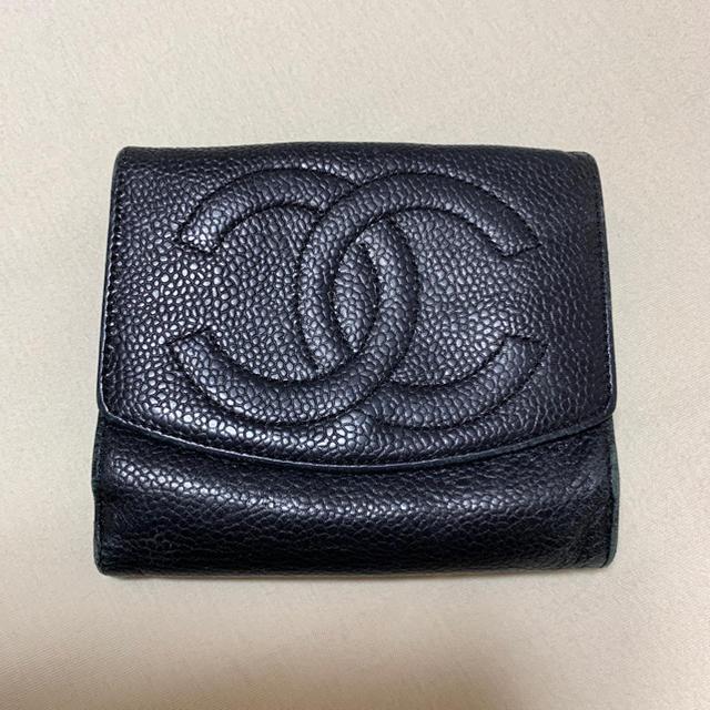 CHANEL - シャネル キャビアスキン 財布の通販 by Ks♡ shop|シャネルならラクマ