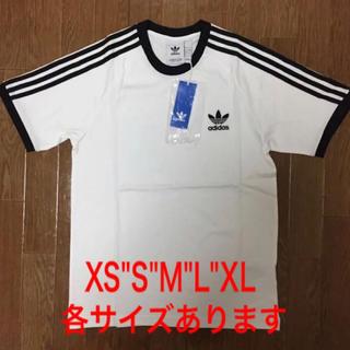 アディダス(adidas)のアディダス オリジナルス 3ストライプ 半袖 Tシャツ 白(Tシャツ/カットソー(半袖/袖なし))