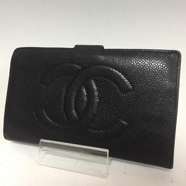 シャネル 財布 ピンク 偽物アマゾン / CHANEL - CHANEL 長財布 キャビアスキン 黒 がま口 シャネル ココマークの通販 by プロフ必読お願いします。|シャネルならラクマ