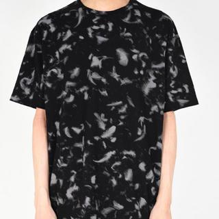 ラッドミュージシャン(LAD MUSICIAN)の着用一回 ラッドミュージシャン 羽根柄Tシャツ 42(Tシャツ/カットソー(半袖/袖なし))