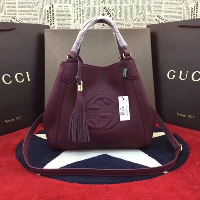 Gucci - Gucci グッチ トートバッグ 斜めがけOKの通販 by カズミさん's shop|グッチならラクマ