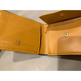 アーバンリサーチ(URBAN RESEARCH)のアーバンリサーチ 本革仕様 二つ折り財布(折り財布)
