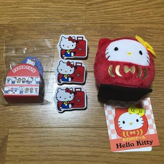 ハローキティ(ハローキティ)のミナ様専用 サンリオ  キティ5点 ポチャッコ5点セット(テープ/マスキングテープ)