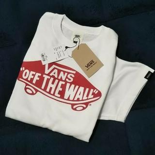 ヴァンズ(VANS)の★新品★今季★ VANSTシャツ/ホワイト/M(Tシャツ(半袖/袖なし))