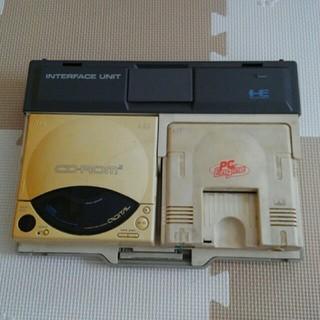 エヌイーシー(NEC)の【動作未確認】PCエンジンCD-ROM2セット (家庭用ゲーム機本体)