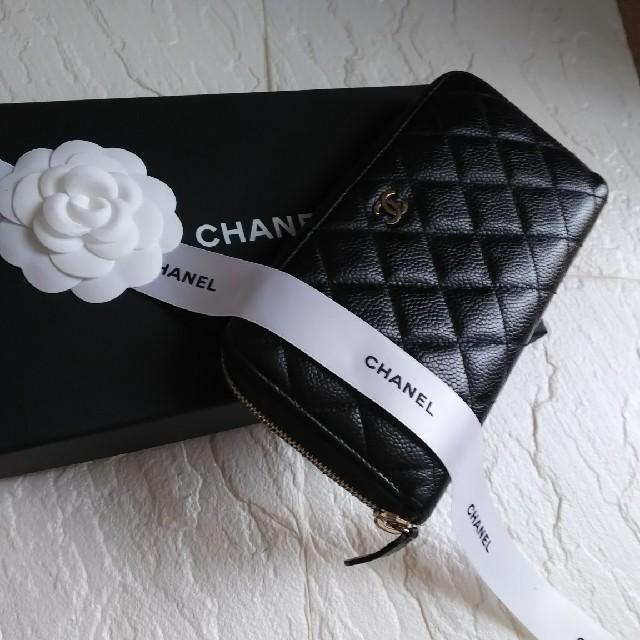 腕時計 ベルト 種類 | CHANEL - 【美品】CHANELシャネル マトラッセ ラウンドファスナー長財布の通販 by giジョ-'s shop|シャネルならラクマ