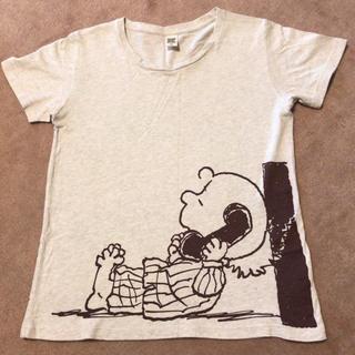 スヌーピー(SNOOPY)のスヌーピー チャーリーブラウン  Tシャツ used(Tシャツ(半袖/袖なし))