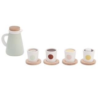 キャラメルベビー&チャイルド(Caramel baby&child )の新品✦1点のみ Kids Concept 木製 カフェドリンクSET(知育玩具)