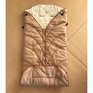アップリカ(Aprica)のアップリカ Disney ベビーカー防寒おくるみブランケット  フットマフ(ベビーカー用アクセサリー)