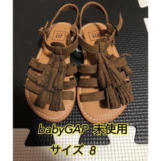 ベビーギャップ(babyGAP)のbabyGAP ベビーギャップ サンダル★サイズ 8  13cm(サンダル)