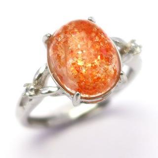 J46-3 レピドクロサイトインクォーツ ストロベリークォーツ指輪(リング(指輪))