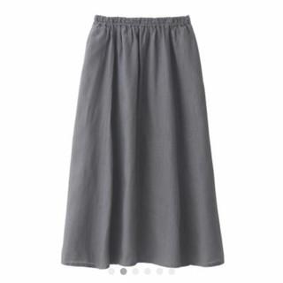 ムジルシリョウヒン(MUJI (無印良品))の無印良品 リネンマキシスカート(ロングスカート)