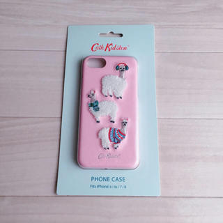 キャスキッドソン(Cath Kidston)の*新品未使用* iPhone6/6S/7/8 ケース アルパカ ミニアルパカ(iPhoneケース)