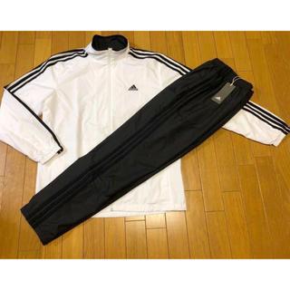 77354d4cee7144 アディダス(adidas)の新品adidas 3ストライプウィンド上下セットO定価12,938白黒