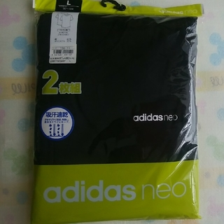アディダス(adidas)の新品【L】adidas neo メンズ クルーネック Tシャツ GUNZE(その他)