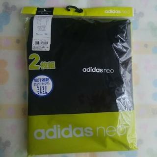アディダス(adidas)の新品【L】adidas neo メンズ Vネック Tシャツ GUNZE(その他)