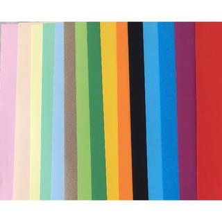 イケア(IKEA)のIKEA 画用紙 15色 69枚(スケッチブック/用紙)
