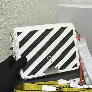 オフホワイト(OFF-WHITE)のオフホワイト ショルダーバッグ レディース バッグ ブラック/白(ショルダーバッグ)