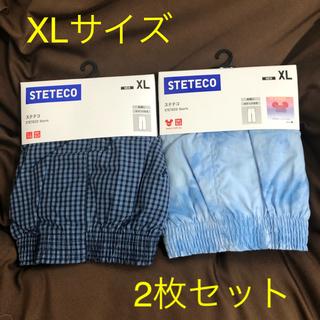 ユニクロ(UNIQLO)の【新品未使用】ユニクロ メンズ ステテコ XL(2枚セット)(ルームウェア)