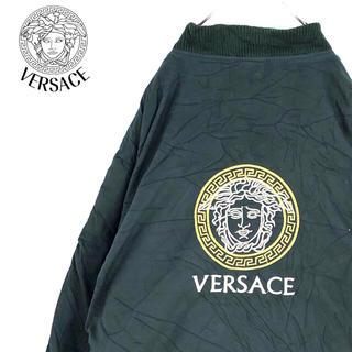 VERSACE - 送料無料!ヴェルサーチ ゆるだぼ スウィングトップ リバーシブル イタリア製