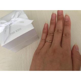 ザキッス(THE KISS)の正規品 THEKISS 指輪 おまけバンクル(リング(指輪))