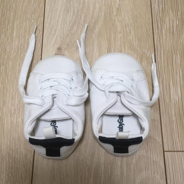 babyGAP(ベビーギャップ)のスニーカー ベビーギャップ キッズ/ベビー/マタニティのベビー靴/シューズ(~14cm)(スニーカー)の商品写真