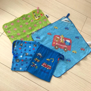 ミキハウス(mikihouse)のミキハウス コップ袋(ランチボックス巾着)