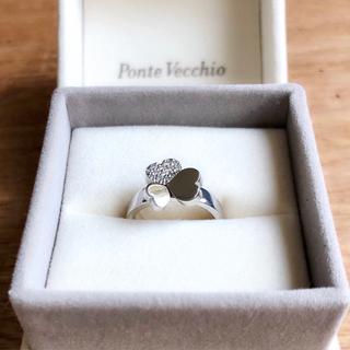 ポンテヴェキオ(PonteVecchio)のポンテヴェキオ 18金WG 6.1g ダイヤリング12号〜12.5号(リング(指輪))