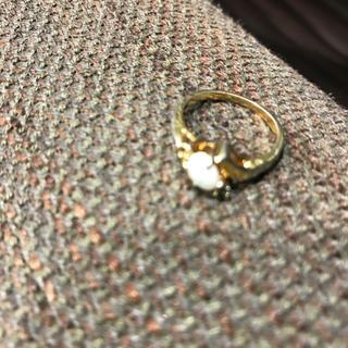 オパール本物リング最後のお値下げ(リング(指輪))