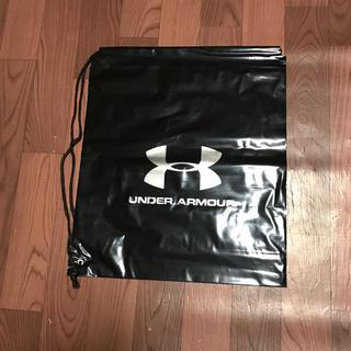 アンダーアーマー(UNDER ARMOUR)の限定値引 アンダーアーマー ショップ袋 2枚組 ナップサック ランドリーバック(ショップ袋)
