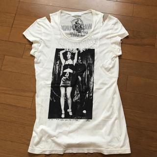 ヒステリックグラマー(HYSTERIC GLAMOUR)のヒステリックグラマーフリンジTシャツ(Tシャツ(半袖/袖なし))