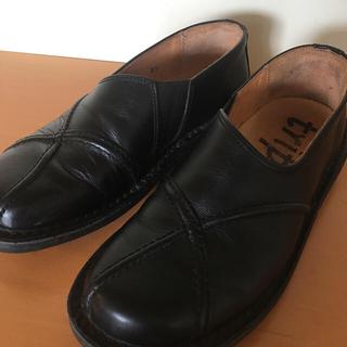 トリッペン(trippen)のtrippen yen 37 黒(ローファー/革靴)