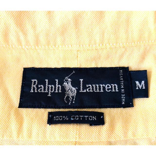 Ralph Lauren(ラルフローレン)のRalph Lauren 半袖 ボタンダウン シャツ M  メンズ メンズのトップス(シャツ)の商品写真