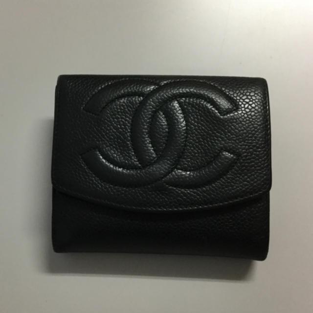CHANEL - CHANEL❤️シャネル財布 ★二つ折りの通販 by りりyan55's shop|シャネルならラクマ