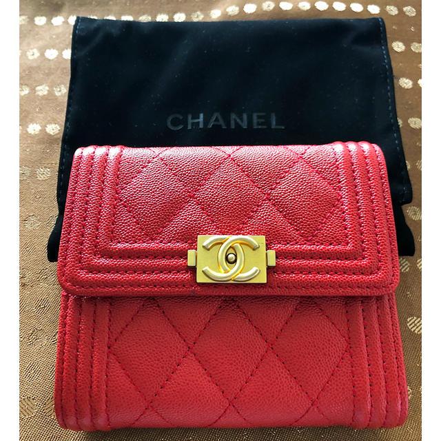 ダコタ バッグ 偽物激安 - CHANEL - CHANEL ボーイシャネル 財布の通販 by sora's shop|シャネルならラクマ