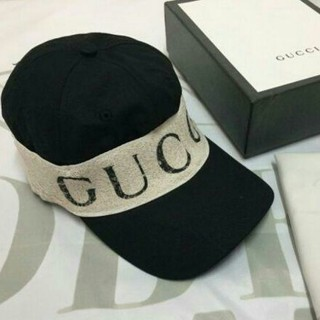 グッチ(Gucci)のGUCCI グッチ  ベースボールキャップ 帽子 キャップ ブラック 黒(キャップ)