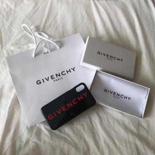 ジバンシィ(GIVENCHY)のGIVENCHY iPhoneXカバー(iPhoneケース)