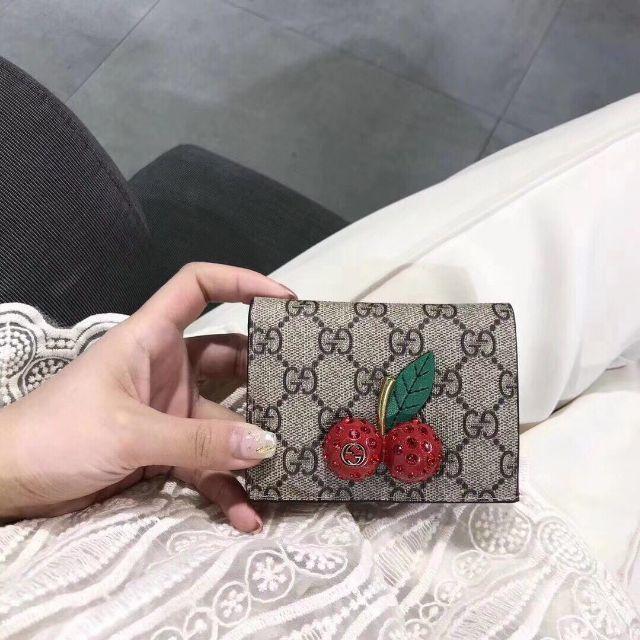 Gucci - GUCCICのチェリーミ二財布の通販 by yhn11's shop|グッチならラクマ