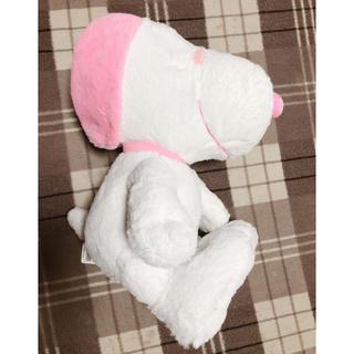 スヌーピー(SNOOPY)のスヌーピー 桜 ピンク ビック ぬいぐるみ 新品未使用(ぬいぐるみ)