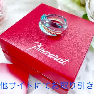 バカラ(Baccarat)のバカラ リング コキアージュ指輪 k18 ターコイズ BACCARAT(リング(指輪))