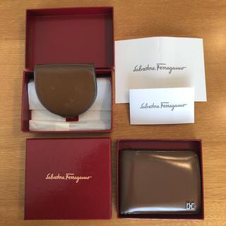 サルヴァトーレフェラガモ(Salvatore Ferragamo)のフェラガモ 二つ折り財布 コインケース Salvatore Ferragamo(折り財布)