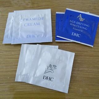 ディーエイチシー(DHC)のDHCセラミドクリーム&エイジアホワイトエッセンス&薬用ホワイトニングエッセンス(美容液)