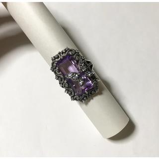 アナスイ(ANNA SUI)のアナスイ シルバーリング フレーム×バタフライ(リング(指輪))