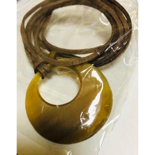 新品 水牛 バッファローホーン ネックレス(ネックレス)