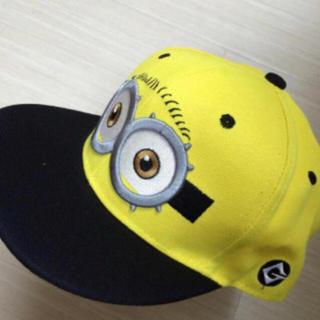 ミニオン(ミニオン)のミニオンズキャップ ミニオン 帽子 子供用 (帽子)